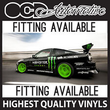 RACE DRIFT GRAPHICS DECALS KIT KEN BLOCK HOONIGAN STI WRX SUBARU IMPREZA