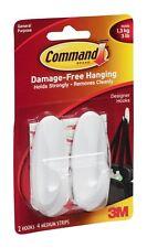 3m Command Self Adhesive Medium Hook - Pack Of 2