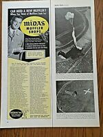 1956 Midas Muffler Shops Ad