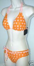 PAUL FRANK Julius & Friends Swimsuit 2-PC Size L Halter Bikini Set NWT