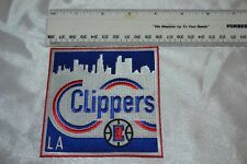 """Los Angeles Clippers """"Clippers"""" Heritage Skyline Collector Patch -- NIP!"""