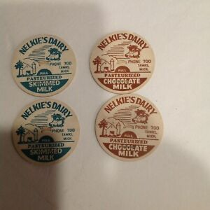 20 Nelkie's Dairy Tawas Michigan Milk bottle caps