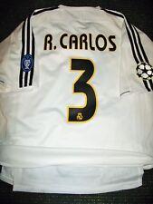 Roberto Carlos Real Madrid PLAYER ISSUE 2003 2004 UEFA Jersey Shirt Camiseta L