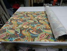 2Nds Fabric 5 Yds Covington Whimsy Mardi Gras Indoor Outdoor Upholstery Fabric