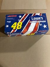 NEW RCCA Action 1:18 Die Cast Jimmie Johnson #48 Lowe's Power Of Pride Stock Car