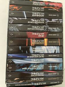 James Bond 007 Ian Fleming 14 Paperback Collector's Box Set By Penguin COMPLETE