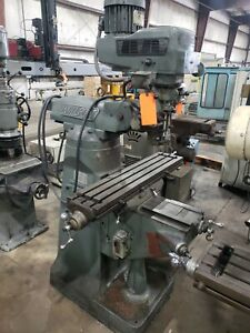 Millport 3hp Knee Milling Machine #879FML