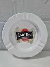 More details for vintage carling black label ash tray  pub bar beer man cave melamine england
