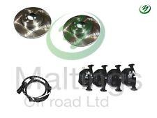 range rover l322 rear brake discs+pads with sensor 3.0 td6 4.4 v8 2002-2005