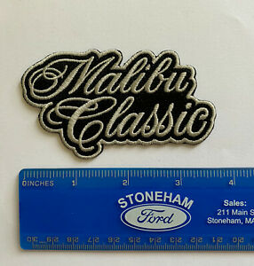 78 81 Chevy Malibu Classic logo emblem Iron-on Embroidered Patch sewn on G-Body
