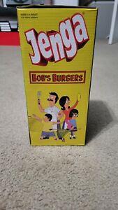 BOB'S BURGERS Jenga Edition Party Game Jimmy Pesto Block Skill Tumbling Tower