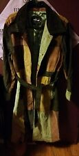 Patchwork Suade Trench coat from Wilson's Leather. Beautiful coat...Need To Sell