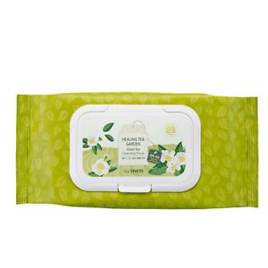 [the SAEM] Healing Tea Garden Green Tea Cleansing Tissue 1pack * 60 / K-Cosmetic