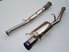 Invidia G200 Catback Exhaust+TI Tip FOR 02-07 Subaru WRX STI HS02SW1G2T
