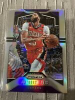 Anthony Davis 2019-20 Panini Prizm Silver Refractor # 222 SP Lakers Finals MVP