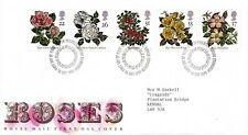 1991 Sg 1568/72 Ninth World Congress of Roses, Belfast First Day Cover