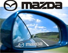 Mazda Sticker Decal Etched Glass Effect for Mirror Style