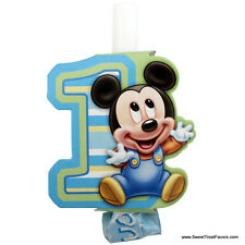 Mickey Mouse Baby BLOWOUTS 1st First Birthday Decoration Party Supplies Boy Blue