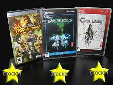 OFFERTA STOCK 3 GIOCHI NEW PC CHAOS LEGION EDGE OF CHAOS DRAKENSANG IT STOCK177