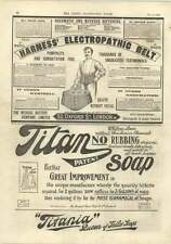 1893 Medical Battery Company Harnais electropathic Ceinture