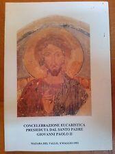 CONCELEBRAZIONE EUCARISTICA PRESIEDUTA DAL SANTO PADRE GIOVANNI PAOLO II 1993