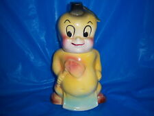 AMERICAN BISQUE MOHAWK INDIAN 'little mo' vintage COOKIE JAR