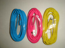 3x Mix Color 3M/10Ft Usb charger data sync cord for iphone5 5s 6 plus ios8 #D1