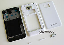 OEM Samsung Galaxy S2 SII i9100 Full Housing Cover Middle Frame Back Door Case