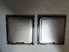 Lot of 2 Intel Xeon X5660 Hexa(6)-Core 2.8GHz 12MB SLBV6 LGA 1366 CPU Processor