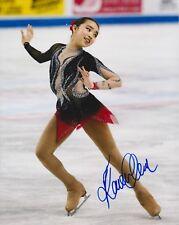 KAREN CHEN Signed 8x10 Photo 2018 OLYMPIC MEDALIST FIGURE SKATER