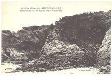 CPA 22 - LANCIEUX (Côtes d'Armor)  38. Anfractuosités dans les rochers près de l