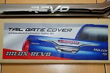 TOYOTA HILUX REVO 2015-16 CHROME TAIL GATE COVER TRIM NEW PRODUCT