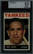 1964 TOPPS #21 YOGI BERRA BVG 8.5 NM-MT+ NEW YORK YANKEES HOF MVP BASEBALL