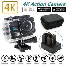 """SJ9000 2.0""""Screen HD 4K 30fps WiFi Sport Action Camera+Battery Charger+Carry Bag"""