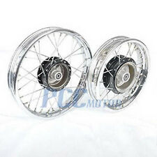 PW80 PY80 FRONT REAR RIM WHEEL SET FOR YAMAHA COYOTE 80 PW PY 80 M RM24+RM25