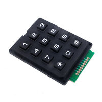 DIYmall 4 X 3 Switch  Matrix Array Keypad Keyboard Module 12 Keys for Arduino
