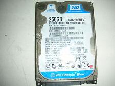 """WD Scorpio Blue 250gb WD2500BEVT-80A23T0 2061-771672-F04 AC 2,5"""" SATA"""