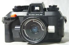 Nikon Nikonos IV-A Underwater Film Camera SN4133405 w/Nikkor 35mm F/2.5 Lens