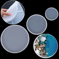 Silicone Coaster Mold Jewelry Making Mould Epoxy Resin Casting Molds Round