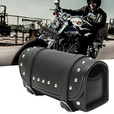 For Harley Roll Waterproof Bag Motorcycle Scooter Tool Round Barrel Shape Bags