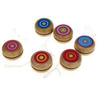 Wooden YOYO kids classic toys xmas gifts party favors kindergarten NTPK