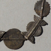 11 hard to find antique old lost wax cast brass beads ashanti ghana #47