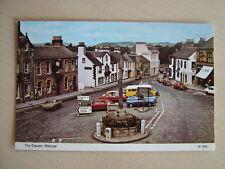 Postcard. THE SQUARE, MELROSE. Unused. Standard size.