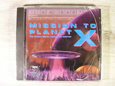 Mission to Planet X (CDROM, 1997) Vintage Internet Coaching Software NEW!