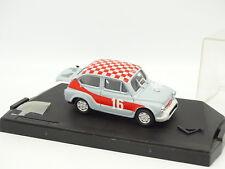 Progetto 1/43 - Fiat 600 Abarth 850 TC Grise et Rouge