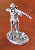 Vintage 1982 Pewter Greatest Legends of the West Figurine Calamity Jane 2.25""