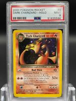 PSA 9 Dark Charizard 4/82 Team Rocket Set Holo Rare Pokemon Card