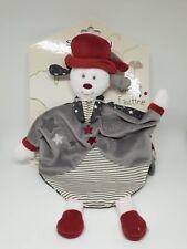 03 - Doudou plat chien grelot chapeau étoile Faustine et Olaf SAUTHON NEUF