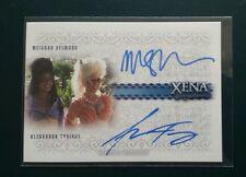Xena Alexandra Tydings and Meighan Desmond dual auto card  DA3