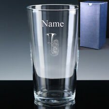 Personalised TUBA Eb Bb BASS Pint Beer Glass FREE ENGRAVING Brass Band Gift